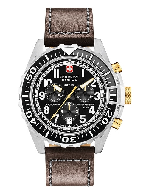 Часы мужские Swiss Military Hanowa 06-4304.04.007.05 Touchdown Chrono