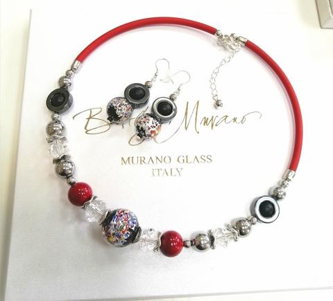 Комплект ожерелье и серьги Eleganza цвет ARLA