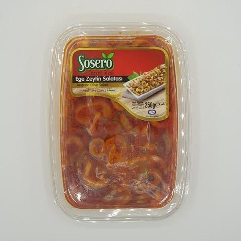 Оливковый салат Эгейский  SOSERO, 250 гр