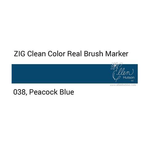 Маркер акварельный ZIG Clean Color Real Brush- штучно - 038
