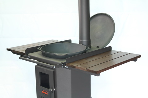 Кронштейн для крышки казана на печь
