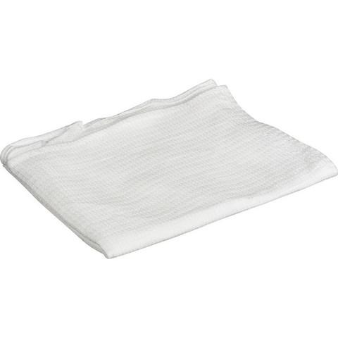 Полотенце вафельное 45x70 см 160 г/кв.м белое