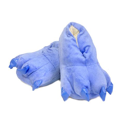 Тапочки царапки голубые детские