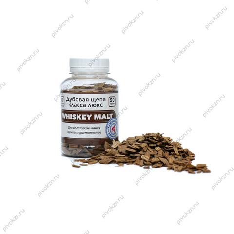 Щепа дубовая Whiskey Malt, 50 г