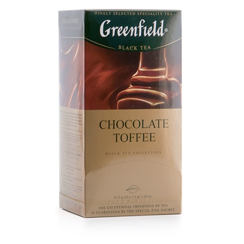 "Чай ""Greenfield"" Chocolate Toffee 25*1,5 г"