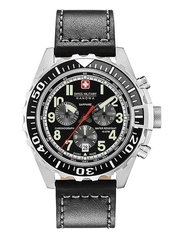 Часы мужские Swiss Military Hanowa 06-4304.04.007.07 Touchdown Chrono