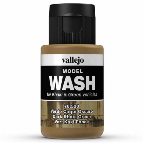 Dark Khaki Green Wash 35 ml.