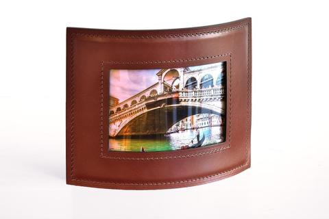 Рамка для фотографий BUVARDO PREMIUM из кожи Full Grain Toscana/Cuoietto шоколад