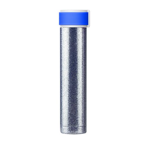 Мини-термос Asobu Skinny Glitter (0,23 литра), голубой