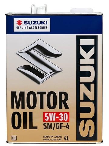SUZUKI MOTOR OIL 5W30 SM/GF-4