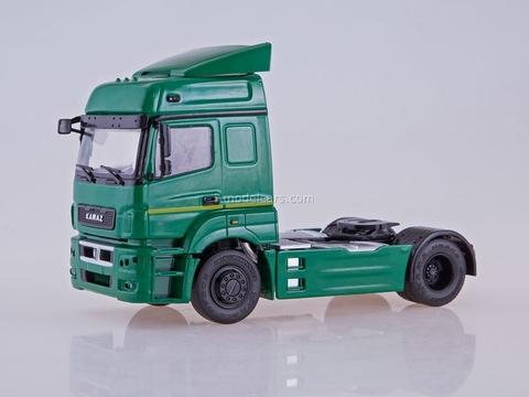 KAMAZ-5490 road tractor green 1:43 PAO KAMAZ