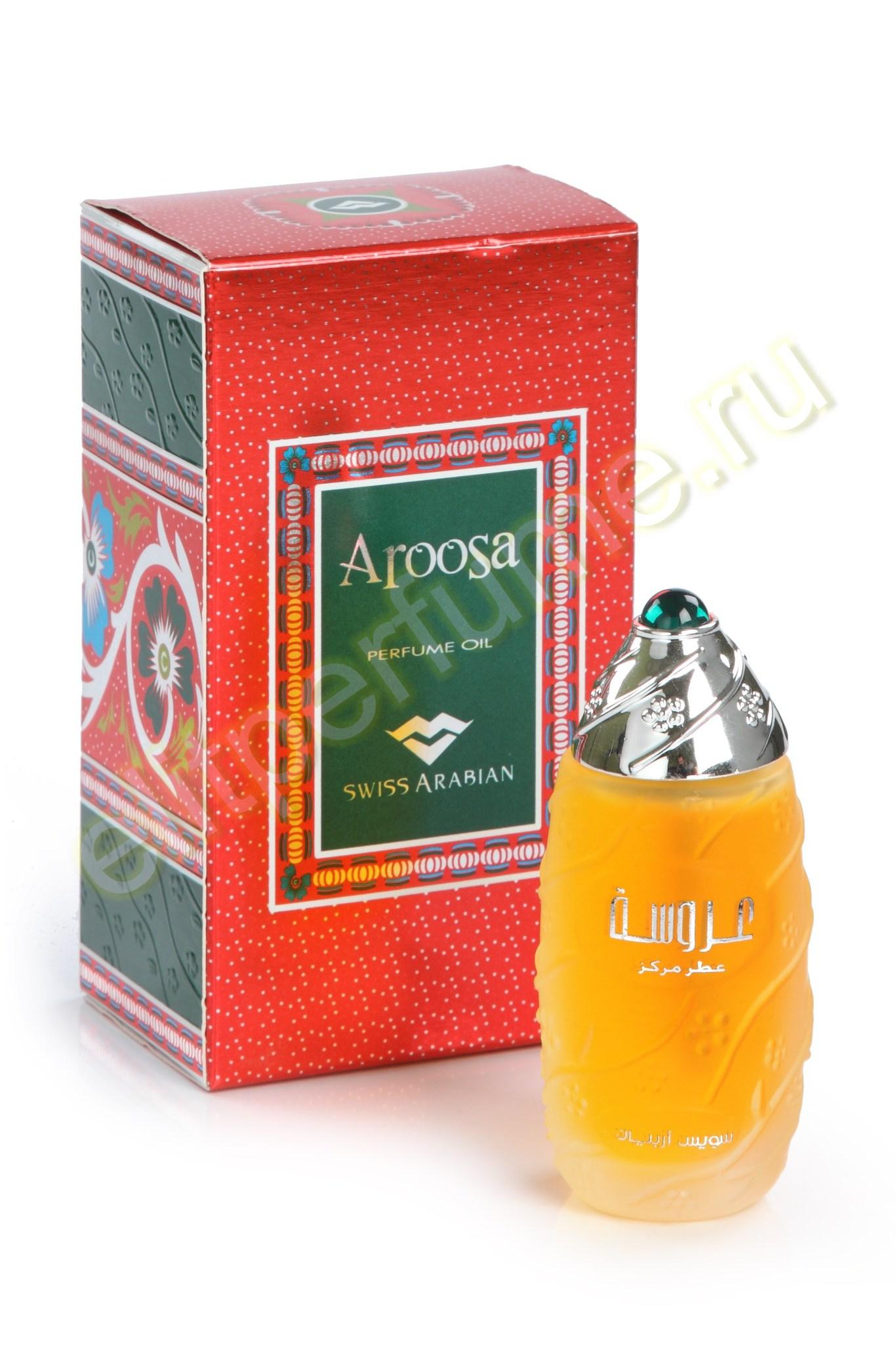 Пробники для арабских духов Aroosa 1 мл арабские масляные духи от Свисс Арабиан Swiss Arabian