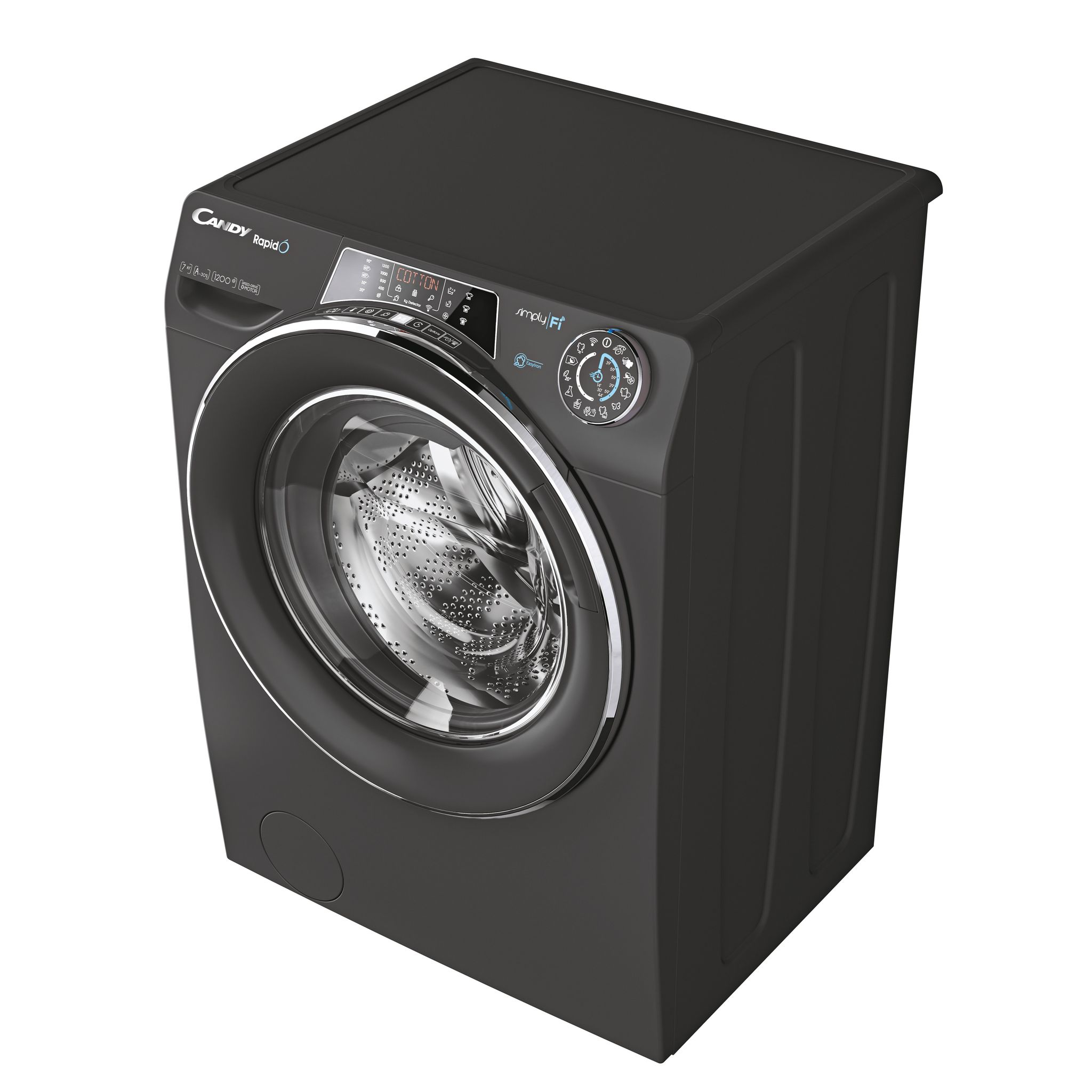 Узкая стиральная машина Candy RapidO RO4 1276DWMCR3-07