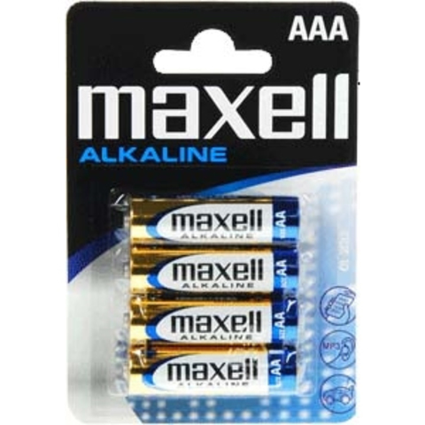 Батарейки Maxell Alkaline LR03, AAA (4/48) BL