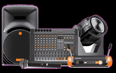 Профессиональное аудио-видео оборудование