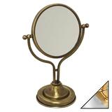 Косметическое зеркало Migliore Mirella ML.MRL-1300 CRDO хром-золото