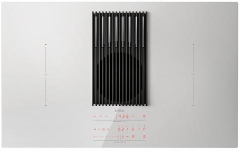 Индукционная варочная панель со встроенной вытяжкой Elica NikolaTesla LIBRA WH/F/83