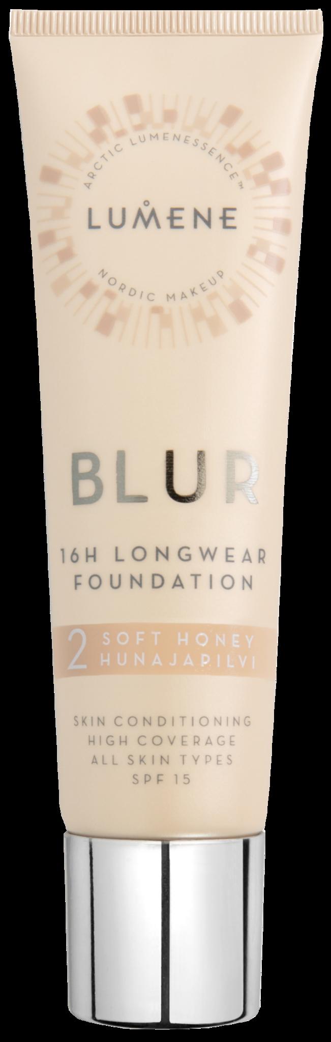 Тональный крем для лица Lumene Blur SPF15 2 Soft Honey 30 мл