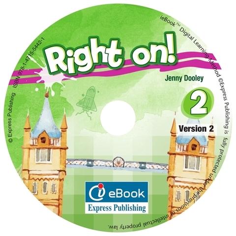 RIGHT ON! 2 Iebook - интерактивный учебник на диске.