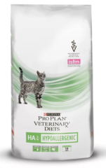 Сухой корм для кошек, Purina Pro Plan Veterinary Diets FELINE HA, с аллергическими реакциями