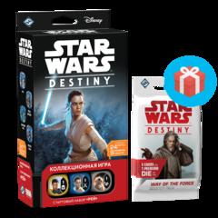 Star Wars: Destiny. Стартовый набор «Рей» (на русском языке)