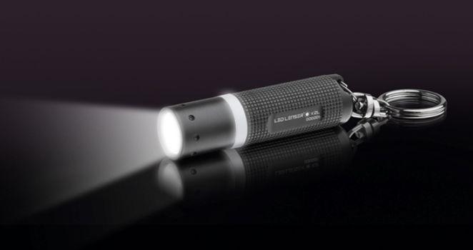 Фонарь-брелок светодиодный LED Lenser K2, 25 лм., 4-AG13, картонная упаковка