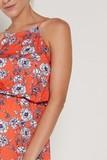 Платье для беременных 09375 цветочный принт