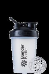 BlenderBottle Classic Шейкер классический с венчиком-пружинкой черный-прозрачный 591 мл