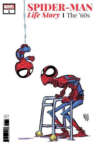 Spider-Man Life Story #1 (Varian Cover by Skottie Young)