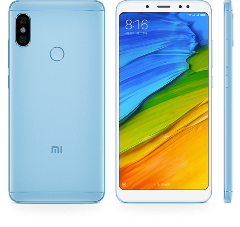 Xiaomi Redmi Note 5 4/64Gb Global Version Blue (Голубой)