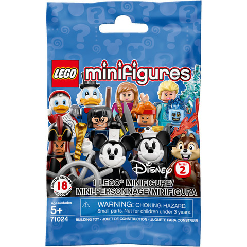 LEGO Minifigures: Минифигурки Дисней серия 2, 71024 — Disney Collectible Minifigures Series 2 — Лего Минифигурки