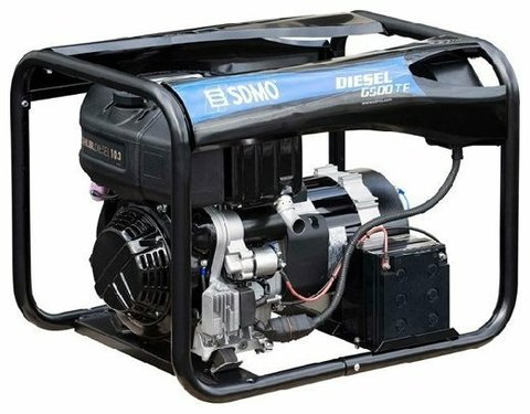 Кожух для дизельного генератора SDMO Diesel 6500 TE XL Auto (5200 Вт)