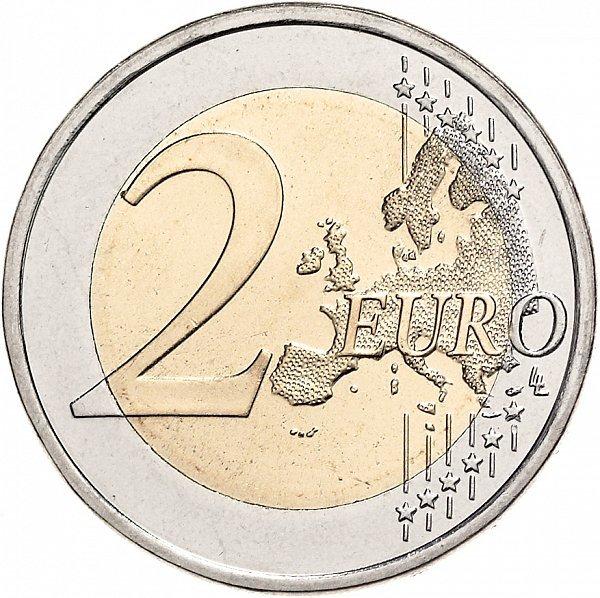 2 евро 2017 Франция - 100 лет со дня смерти Огюста Родена