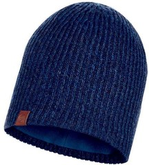 Вязаная шапка с флисовой подкладкой Buff Hat Knitted Polar Lyne Night Blue