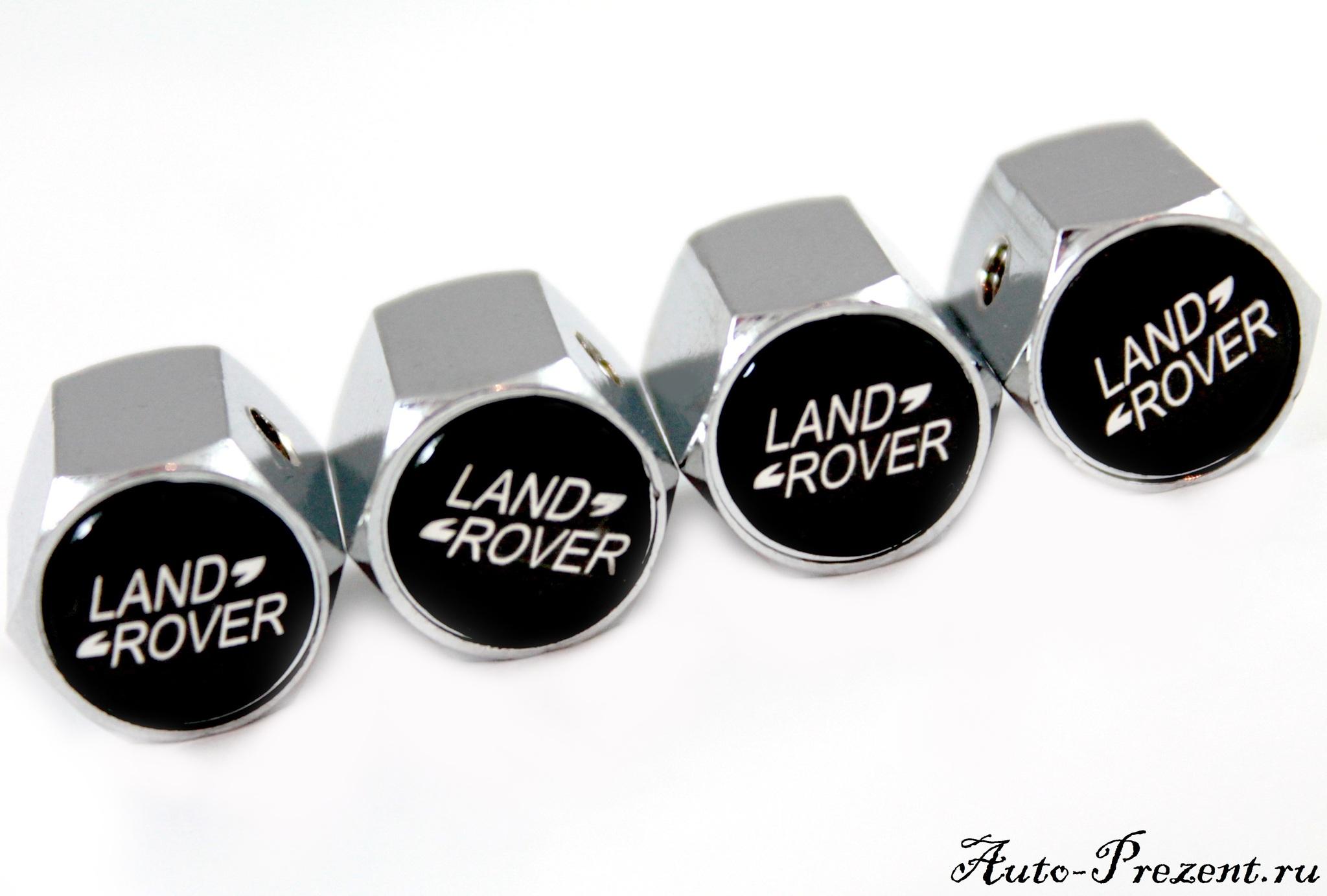 Колпачки на ниппель LAND ROVER с защитой от кражи