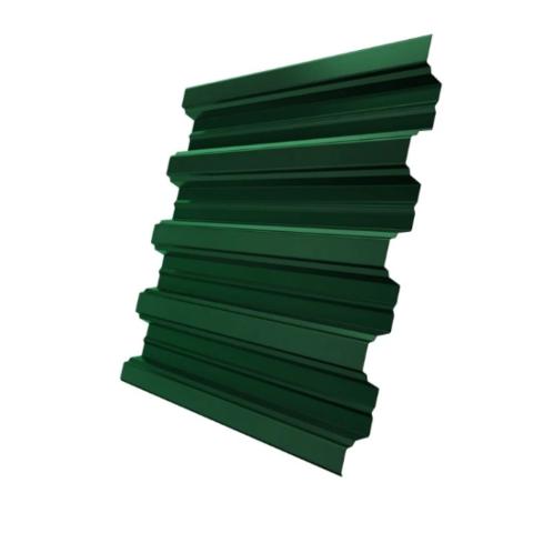 Профнастил Н75х800 мм RAL 6005 Зеленый мох