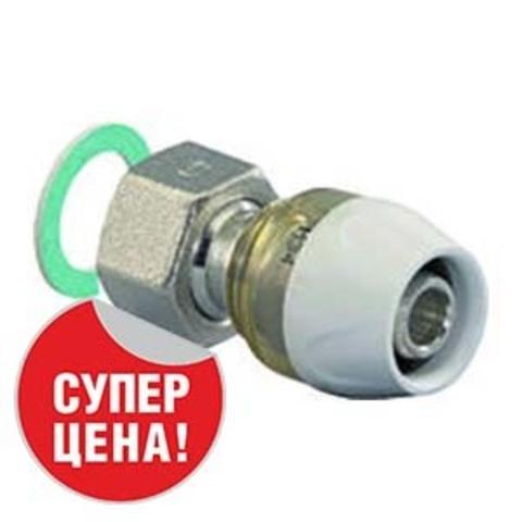 Uponor RTM муфта с накидной гайкой 16х1/2