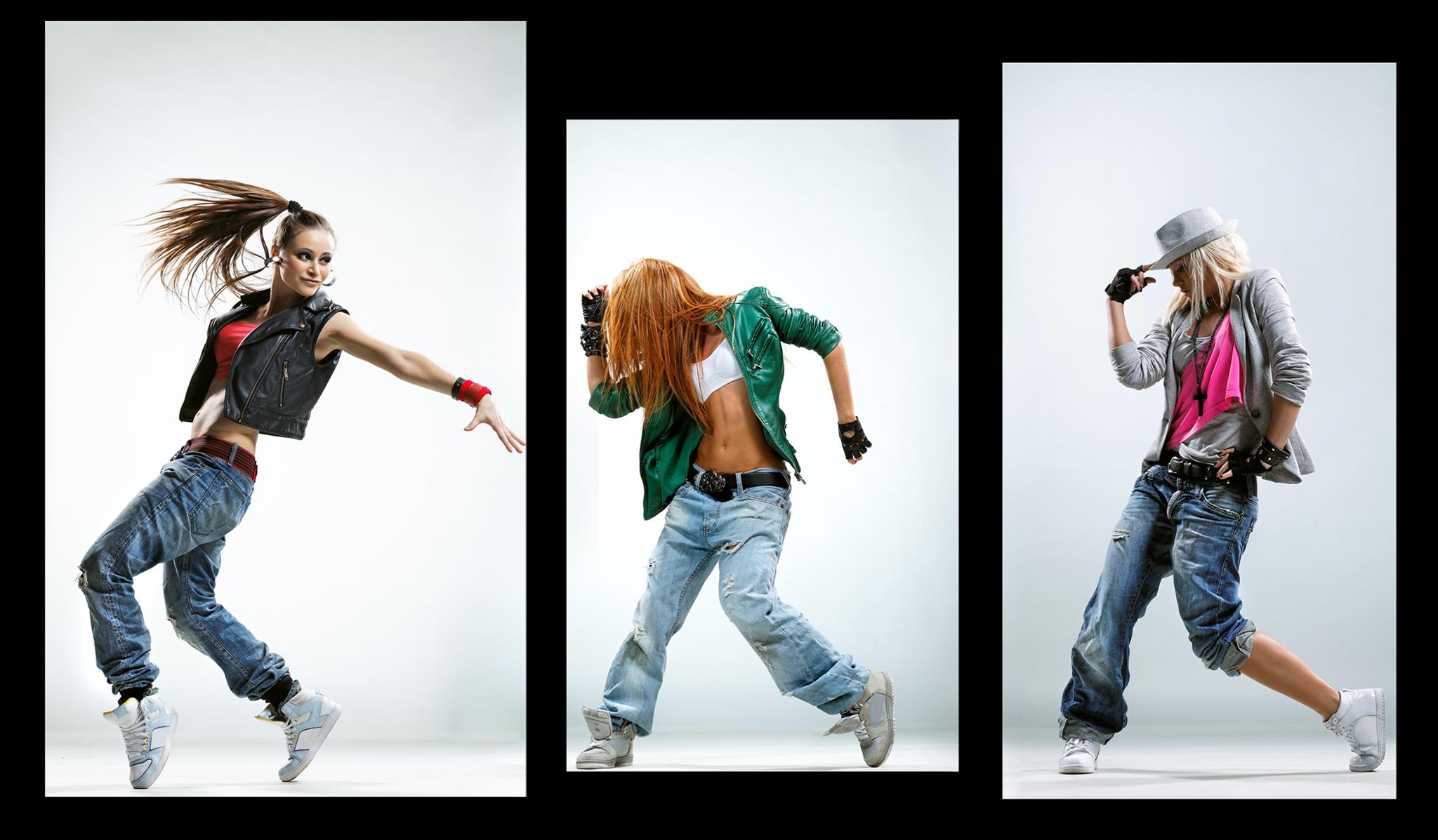 """Модульные картины Модульная картина """"Девушки танцуют хип-хоп"""" М1124.png"""
