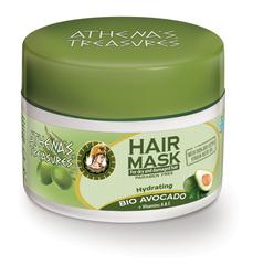 Греческая маска для волос с авокадо и оливковым маслом ATHENAS TREASURES 200 мл