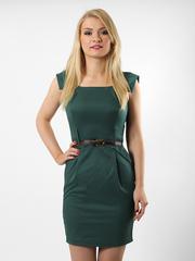 6321-2 платье зеленое