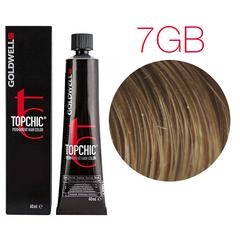 Goldwell Topchic 7GB (песочный русый) - Cтойкая крем краска