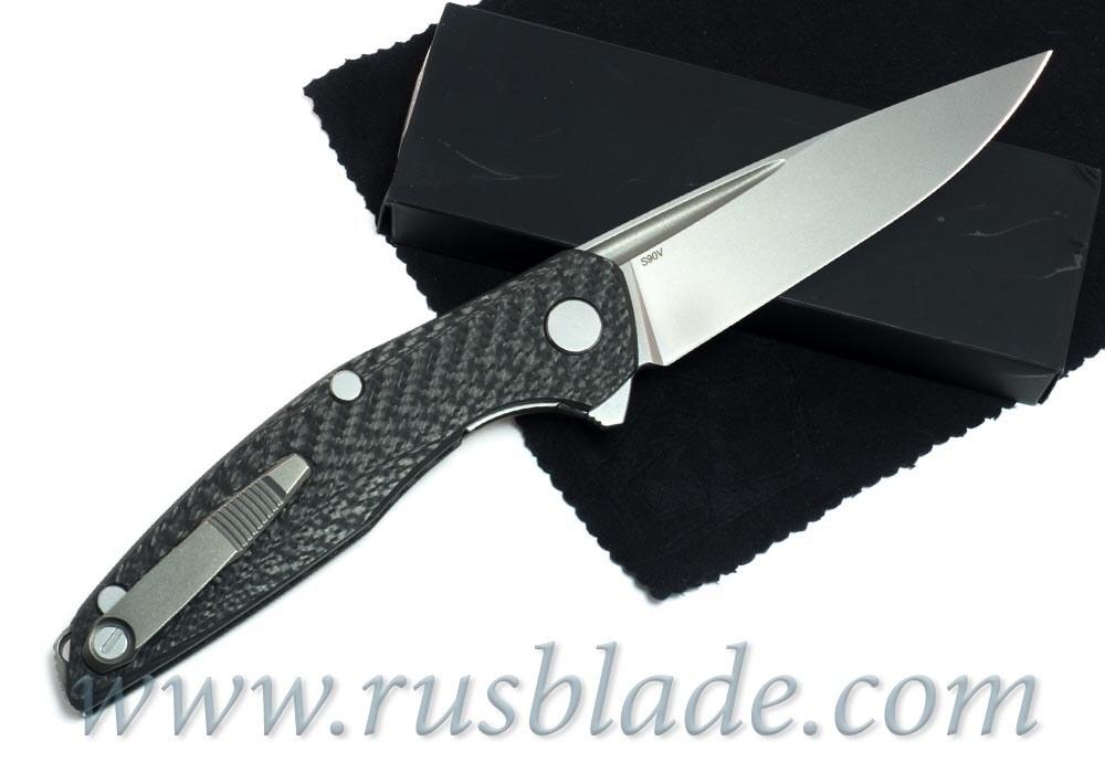Shirogorov 111 S90V Groove CF MRBS