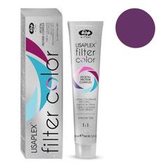 Оттенок шоколадно-сиреневый металлик Крем-краситель для волос Lisaplex Filter Color 100мл