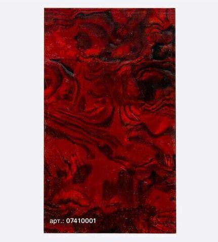 Ракушка раскатанная, красный 07410001