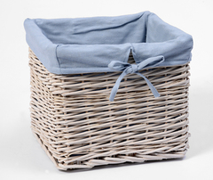 Плетеная корзина для ванной комнаты WasserKRAFT Lopau WB-320-L