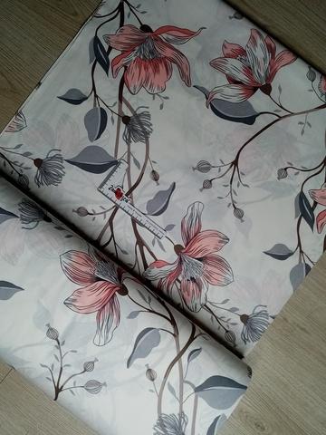 Премиум ранфорс Нежный цветок