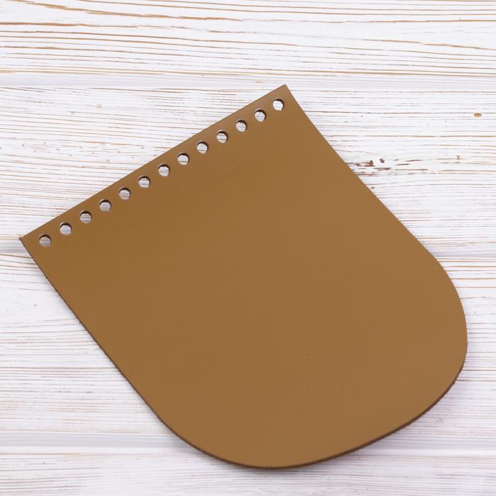"Вся фурнитура Клапан для сумочки кожаный ""Мёд"" 15,5*19,5 см IMG_8907.jpg"