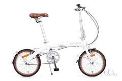 складной велосипед SHULZ Hopper белый