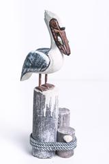 Декоративная фигура. Пеликан.