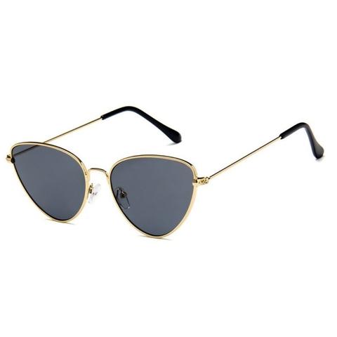 Солнцезащитные очки 180004s Черный с золотой оправой